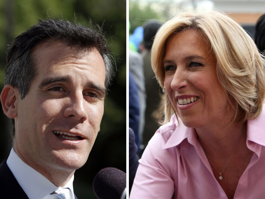 Los Angeles mayoral candidates Eric Garcetti and Wendy Greuel had similar records while serving together on the City Council.
