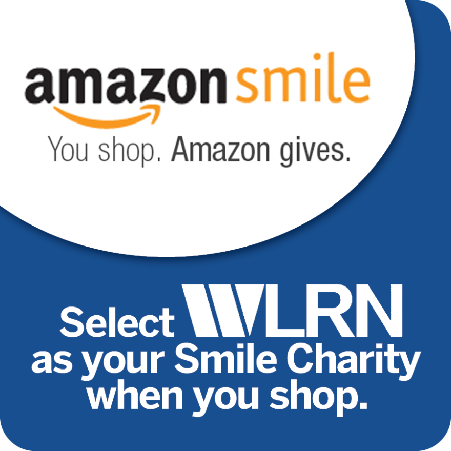 Amazon Smile WLRN Banner