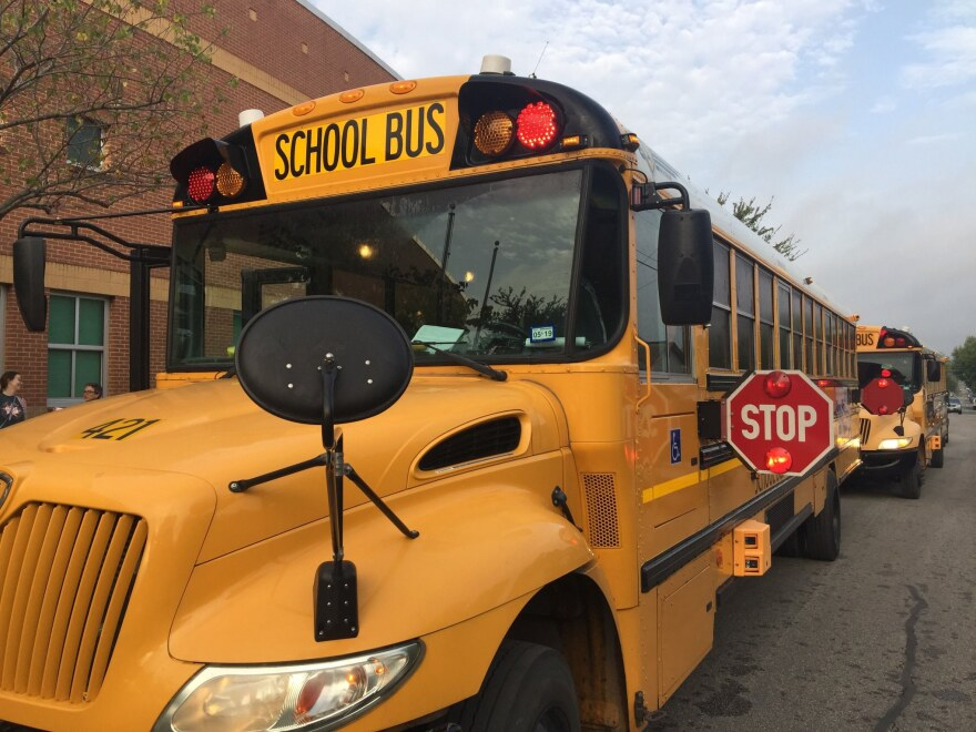 SAISD buses are used for food delivery on 60 bus routes in SAISD.