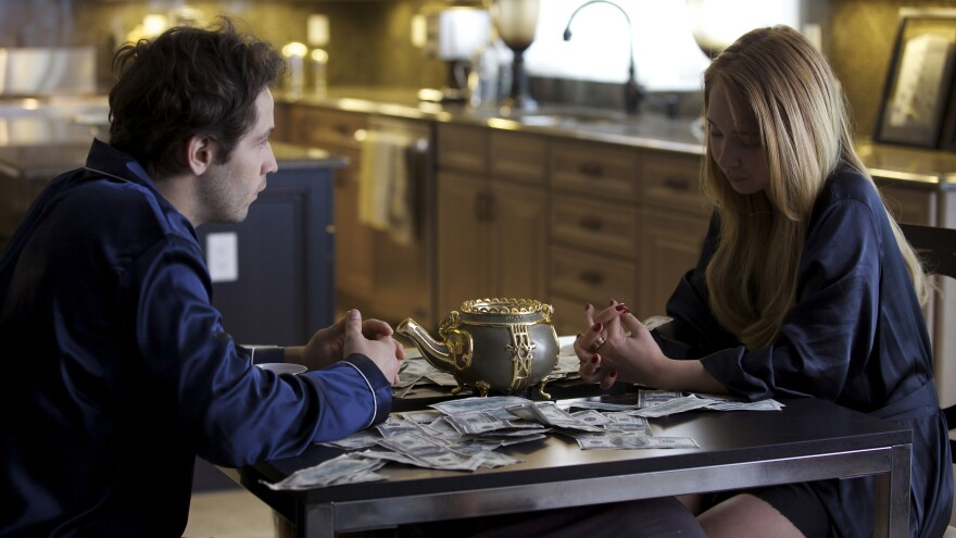 Struggling newlyweds John (Michael Angarano) and Alice (Juno Temple) discover a magical teapot that spits out money when people nearby experience pain.