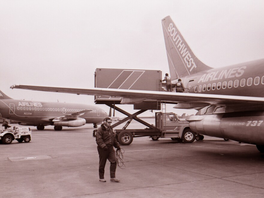 """In June 1971, Southwest Airlines chartered its first commercial flight. Back then, the fleet consisted of four Boeing 737 airplanes and three destinations --"""" all in Texas."""