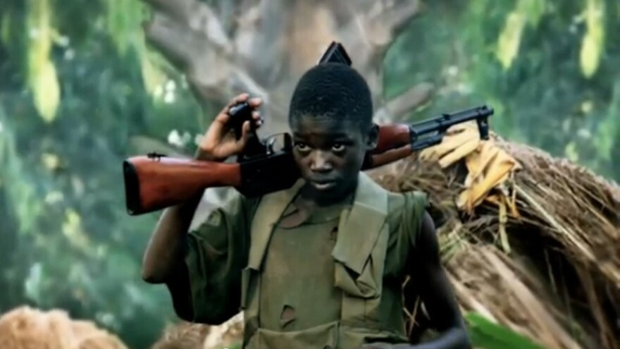 """A screengrab from the """"Kony 2012"""" online video about the Central African warlord Joseph Kony, which skyrocketed in popularity after its release in March. It was criticized, then forgotten, just as quickly."""