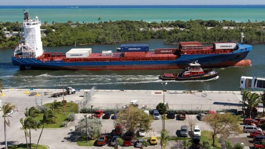 Port Everglades officials this week marked a milestone in plans to expand the port to allow for bigger cargo ships after Congress approved $29 million to move a U.S. Coast Guard station.