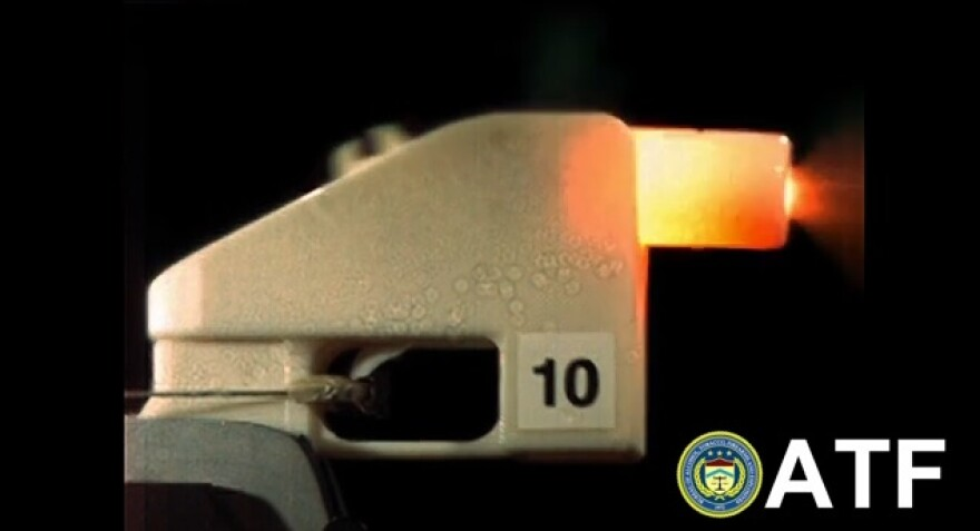 The Bureau of Alcohol, Tobacco, Firearms and Explosives (ATF) led a multi-agency working group testing the use of 3-D printing technology in the making of firearms.
