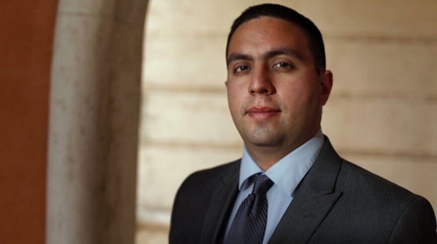 Jose Godinez-Samperio passed the Bar exam, but under current state law, since he's not a U.S. citizen, he can't get admitted to the Florida Bar.