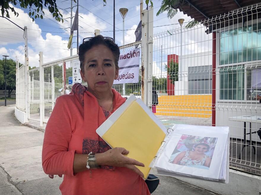 Maria del Rosillo Limon Maldonado's daughter Paulina went missing in 2015 when she was 19 years old.