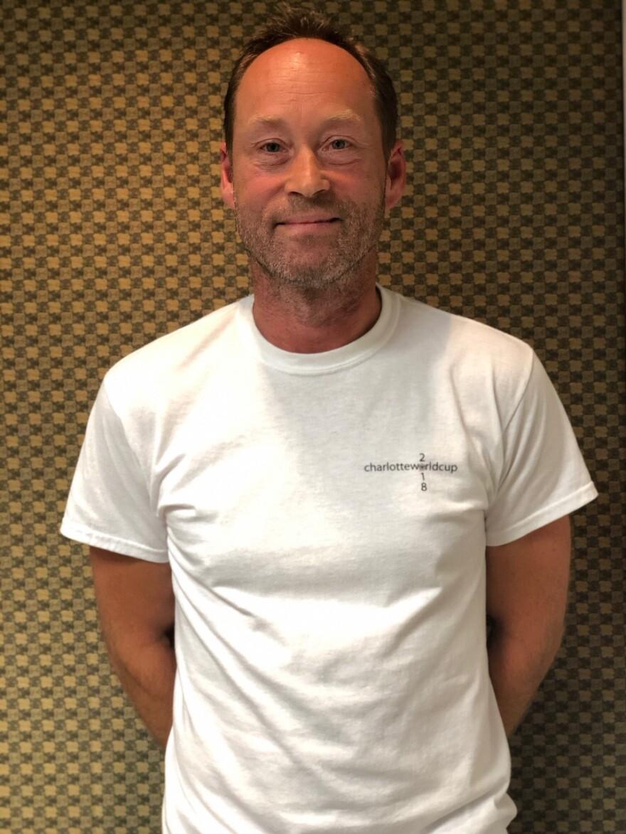 Mikkel Christensen, organizer, Charlotte World Cup