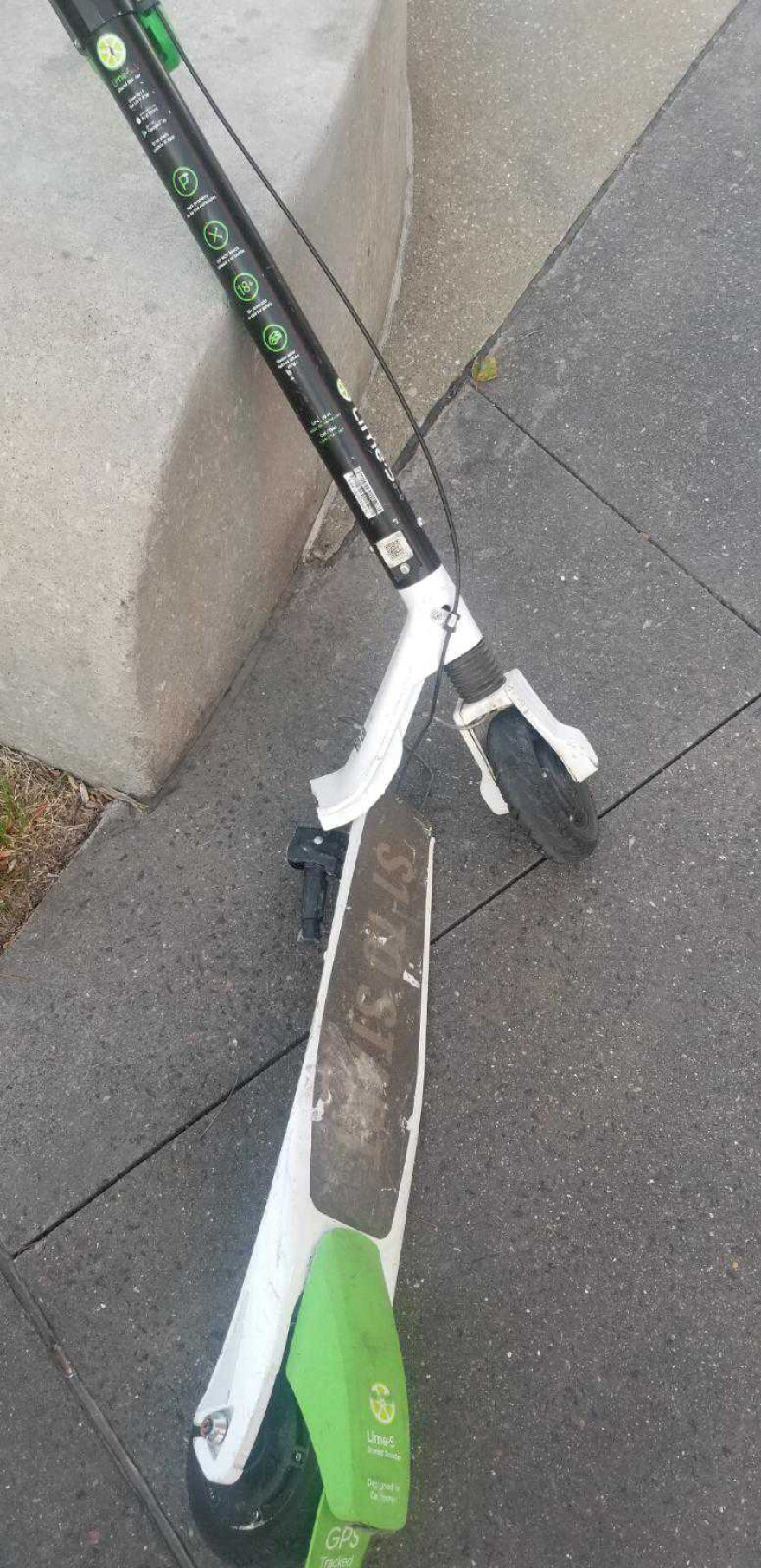 Samati Niyomchai's electric Lime scooter snapped in half while he was riding it in November 2018. The Washington University School of Medicine social worker reported the accident to the company.
