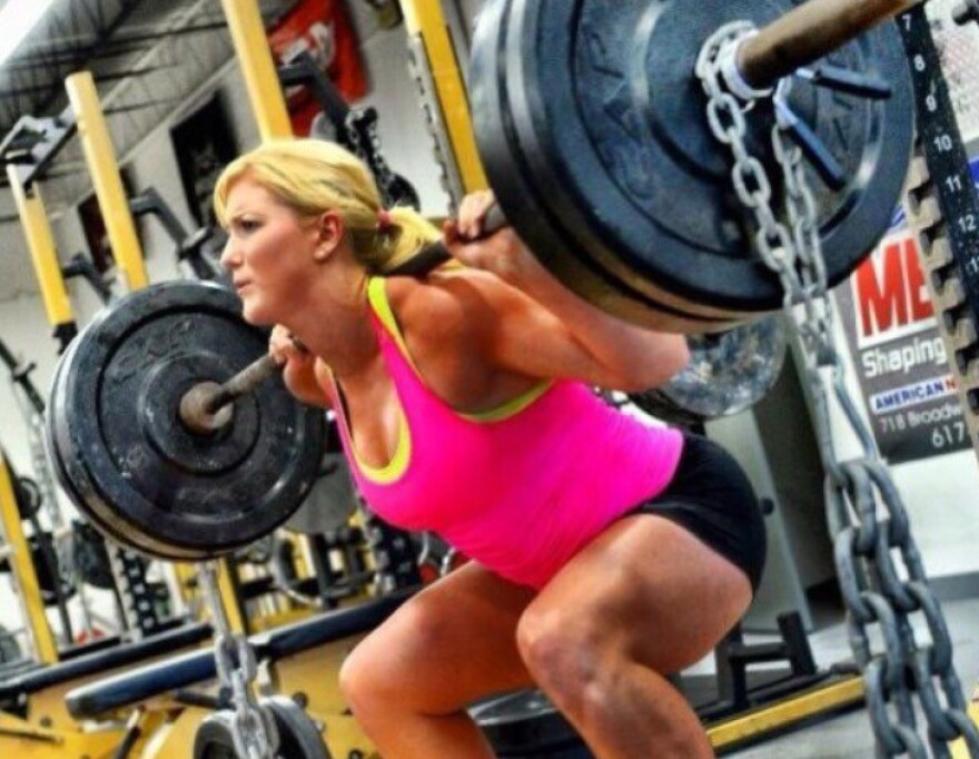 Twenty-two-year-old Strongman competitor Brittany Diamond can carry more than twice her body weight and lifts cars for fun.
