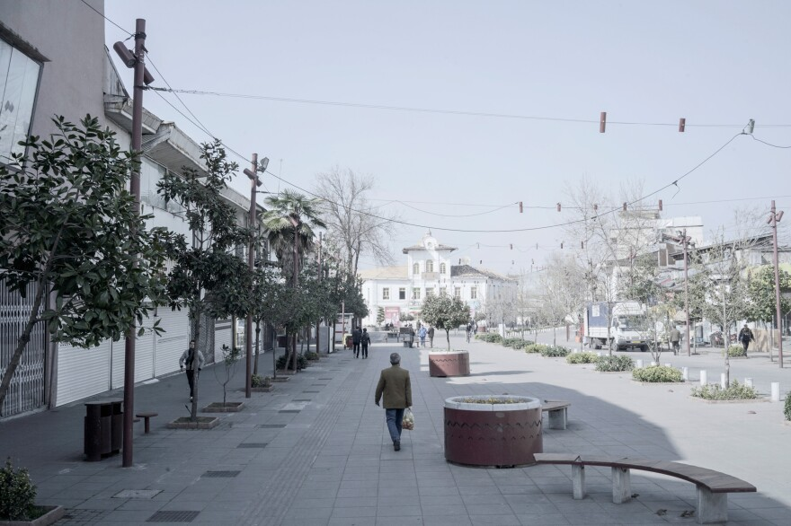 """Saadi Street is one of the chief ways to get to the main square of the city of Guilan. Iranians have a saying: """"You can't throw a needle"""" to describe when places are overcrowded. Usually, at this time of year, you can't throw a needle on Saadi Street."""