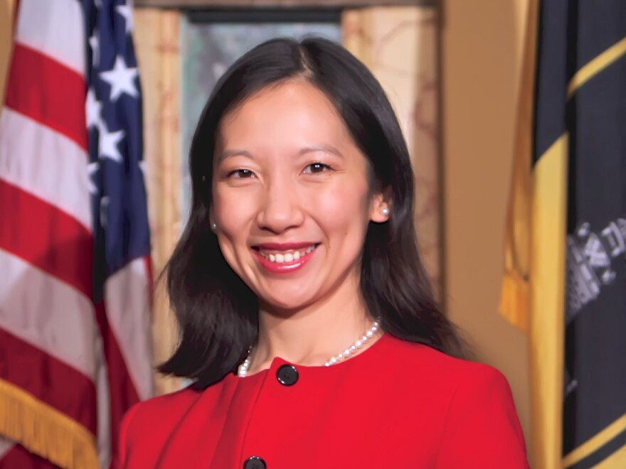 Dr. Leana Wen became Baltimore's health commissioner on Thursday.