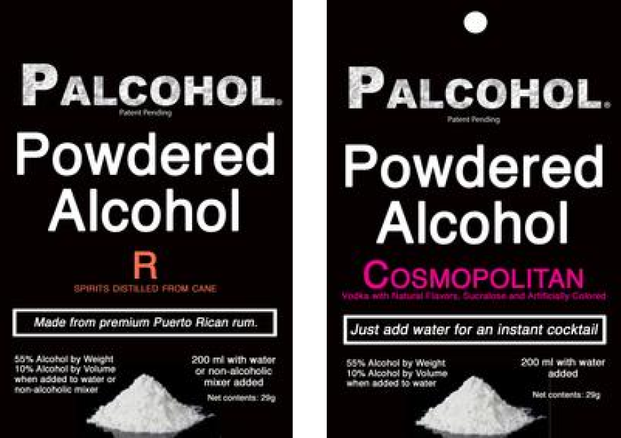The Alcohol and Tobacco Tax and Trade Bureau approved this week powdered version of Palcohol's cosmopolitan, margarita, rum and vodka.
