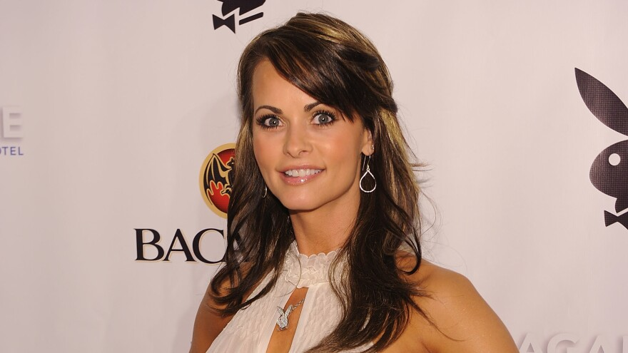 Karen McDougal, photographed in 2010, some four years after an alleged affair with Donald Trump.