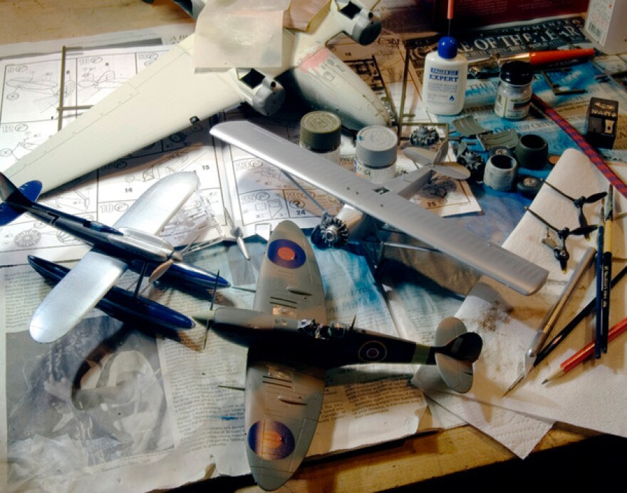 Model airplanes helped sparked a lifelong love of aviation for Dan Patterson.