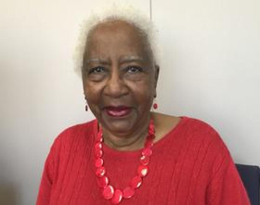 Dorothy Gay has been retired in Broward County for 12 years. She is frustrated with high rent prices combined with not enough affordable housing developments.