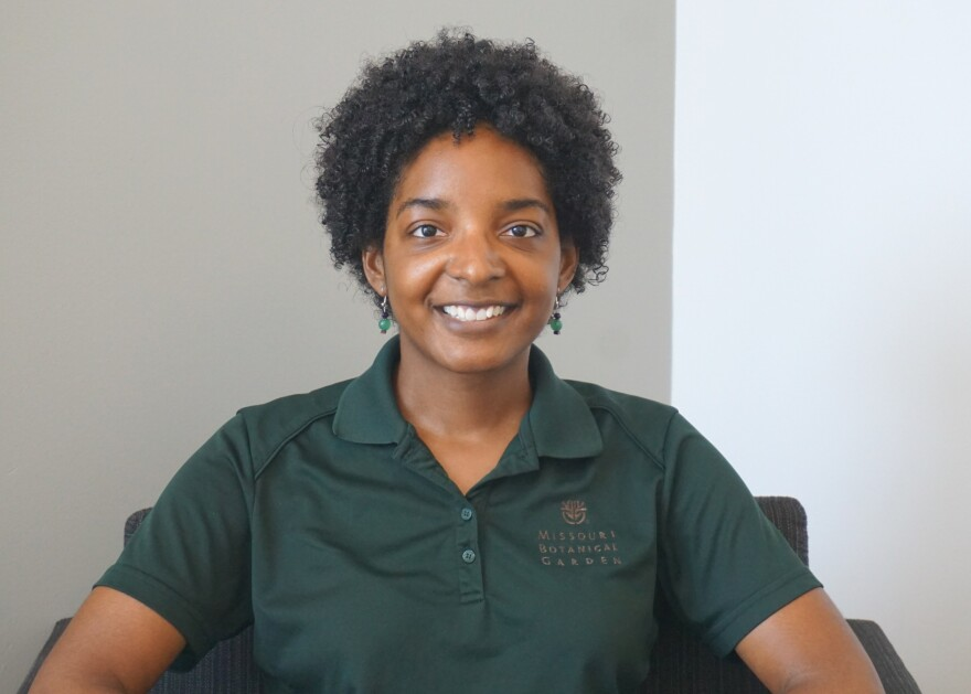 Daria McKelvey is the supervisor of home gardening information and outreach at the Missouri Botanical Garden.