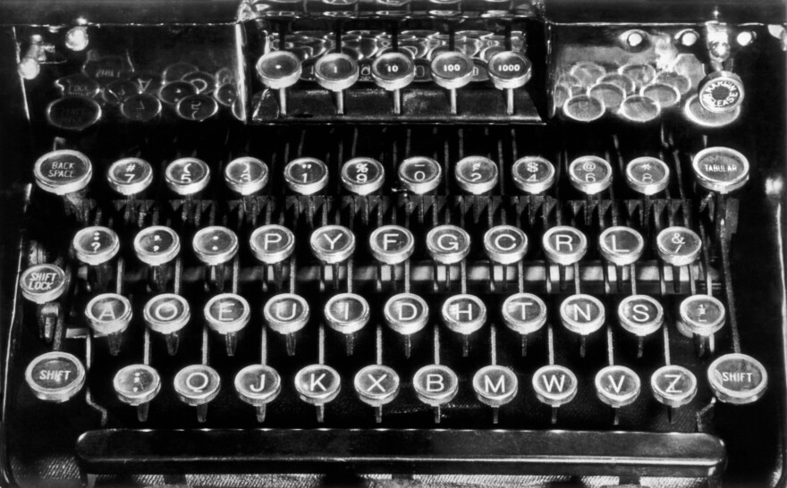 The Dvorak typewriter keyboard layout challenged QWERTY with a promise of increasing typing speed.