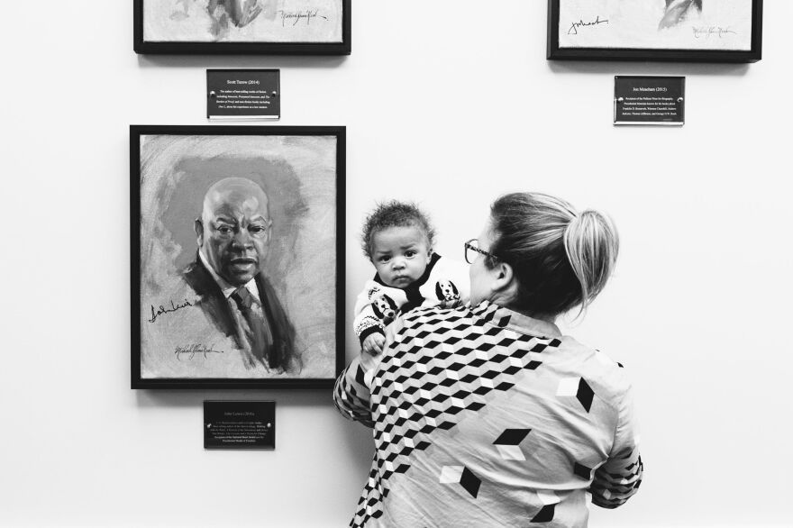 """Archer's adoptive mother takes him to the library to see a portrait of John Lewis, a famed civil rights leader and congressman from Georgia. When asked about the role Nashville played in his development as a civil rights leader, Lewis replied, """"Nashville prepared me."""""""