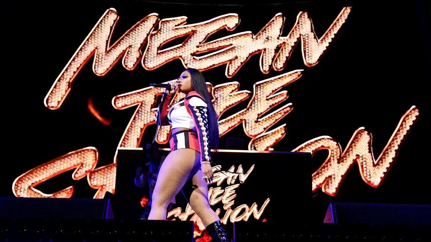 Megan Thee Stallion performs Jan. 30, 2020, in Miami, Florida.