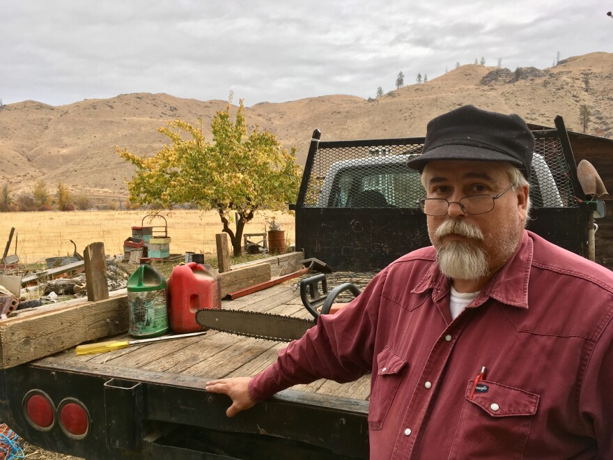 Rancher Dave Creveling believes the cost of a new Washington state carbon fee would be passed along to rural people like him if voters approve it.