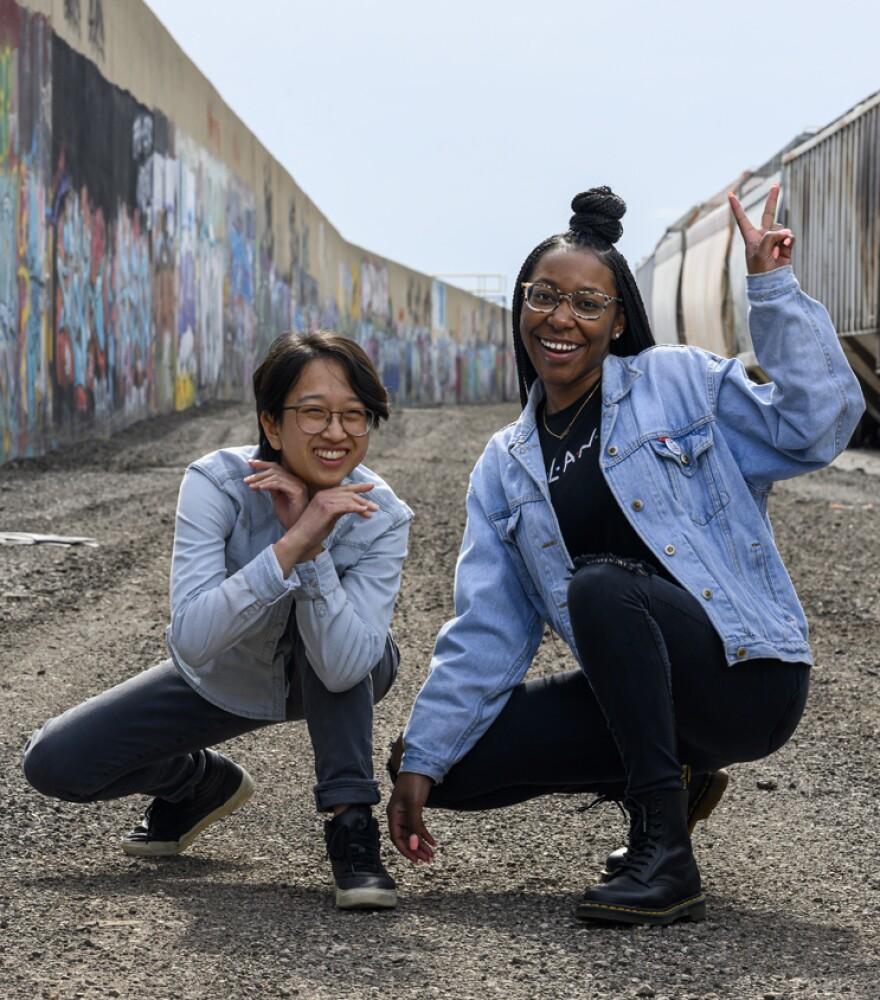 We Live Here 2020 Team: Jia Lian Yang, Lauren Brown and Ashley Winters