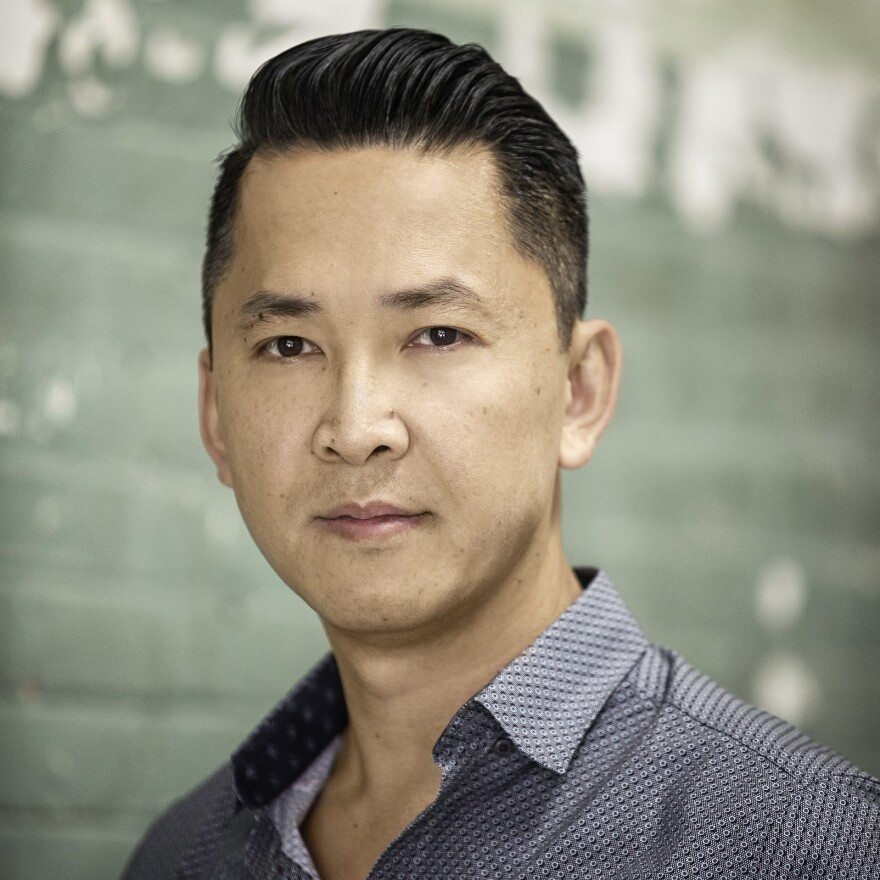 """""""Simply because people are trying to enter this country doesn't mean that the United States has to lose its soul,"""" author Viet Thanh Nguyen says."""