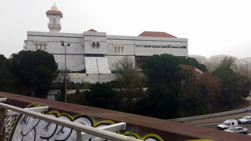 The Islamic Cultural Center of Madrid — popularly known as the M-30 Mosque because of its proximity to the Spanish capital's M-30 ring road highway — is the second-largest mosque in Europe, after Rome's.