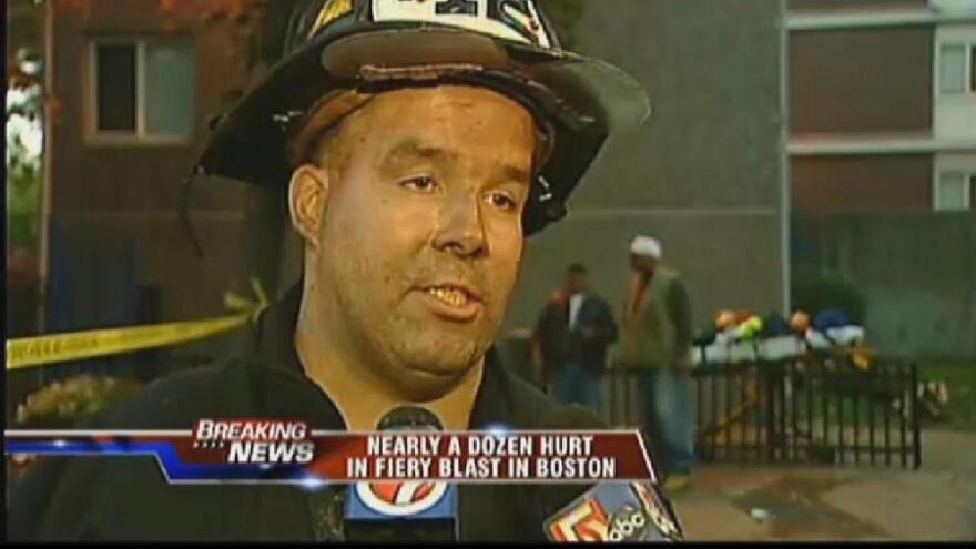 <p>Lt. Glenn McGillivray, Boston firefighter.</p>