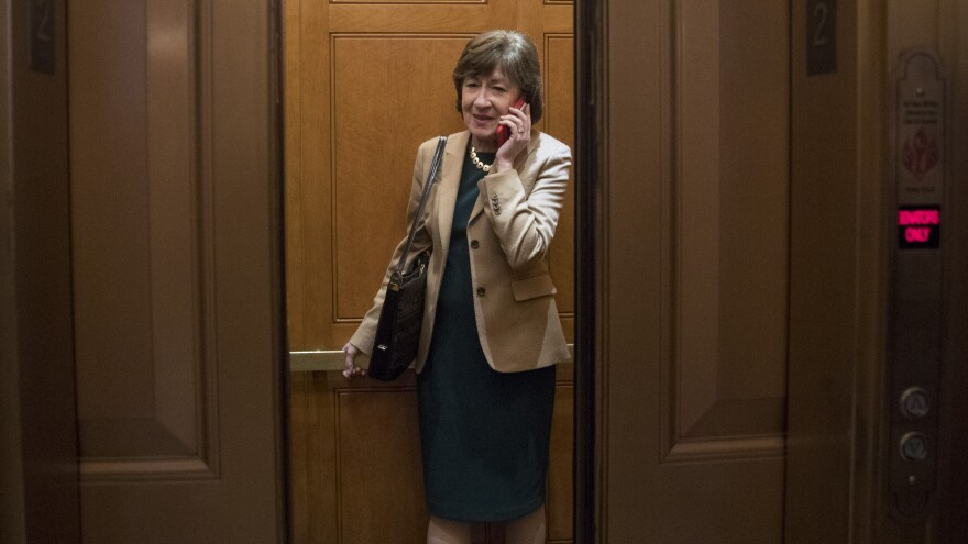 Sen. Susan Collins is facing a difficult reelection in Maine — a state deeply divided over President Trump.