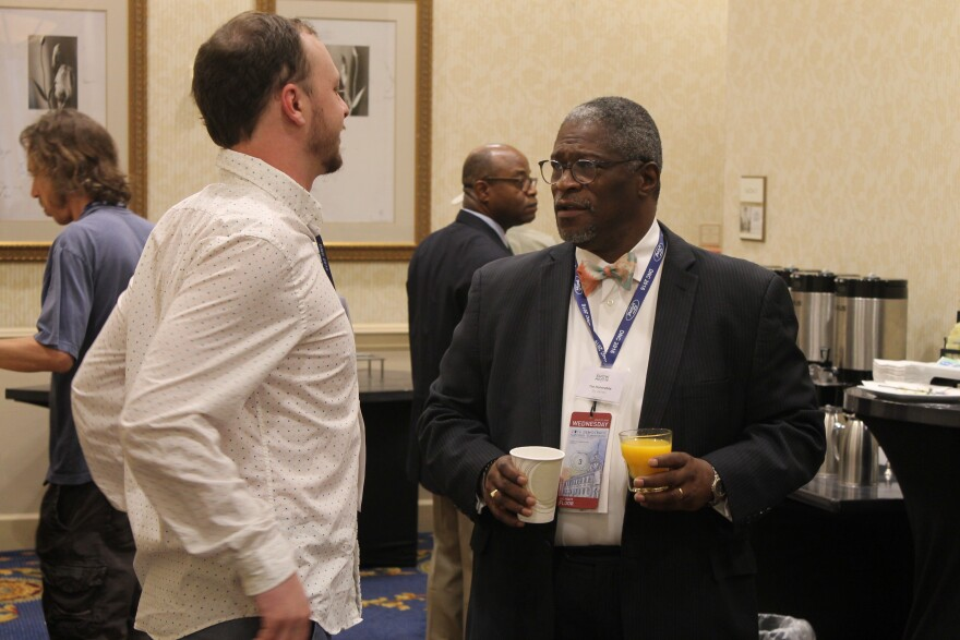 Kansas City Mayor Sly James recently won a second term in office. He's barred from running again for mayor in 2019.