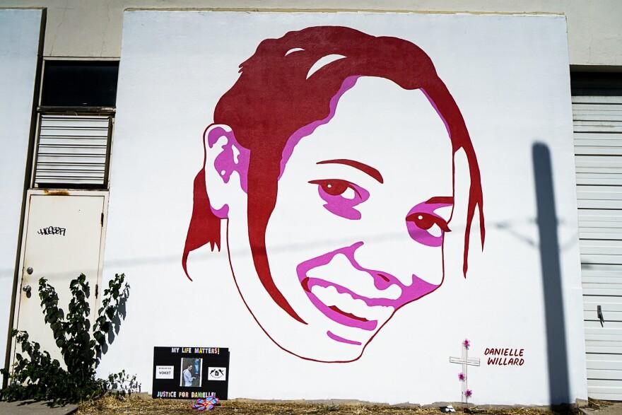 Photo of Danielle Willard portrait.