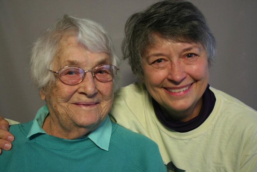 Ruby Nicholson and Jane Scott