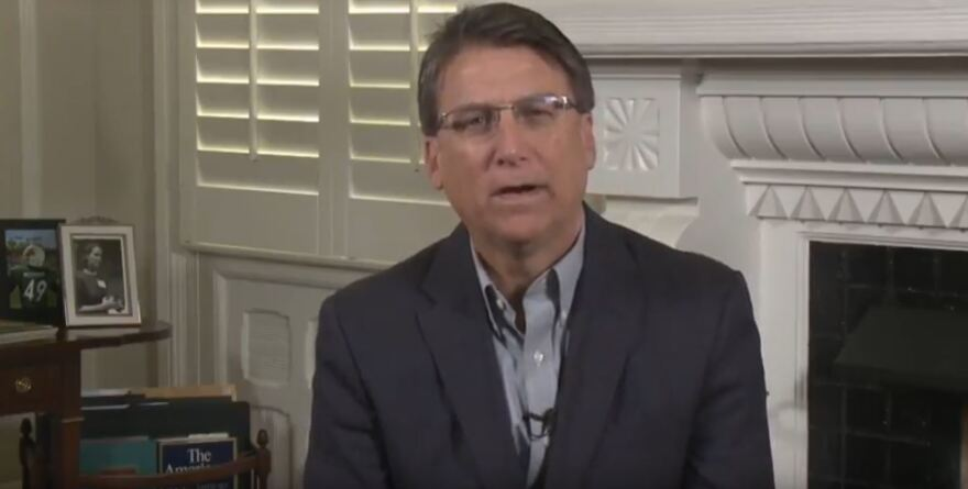 Gov. Pat McCrory announced he's seeking $200 million in emergency funding during this week's special legislative session.