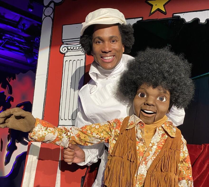 Eric B. Anthony plays Michael Jackson.