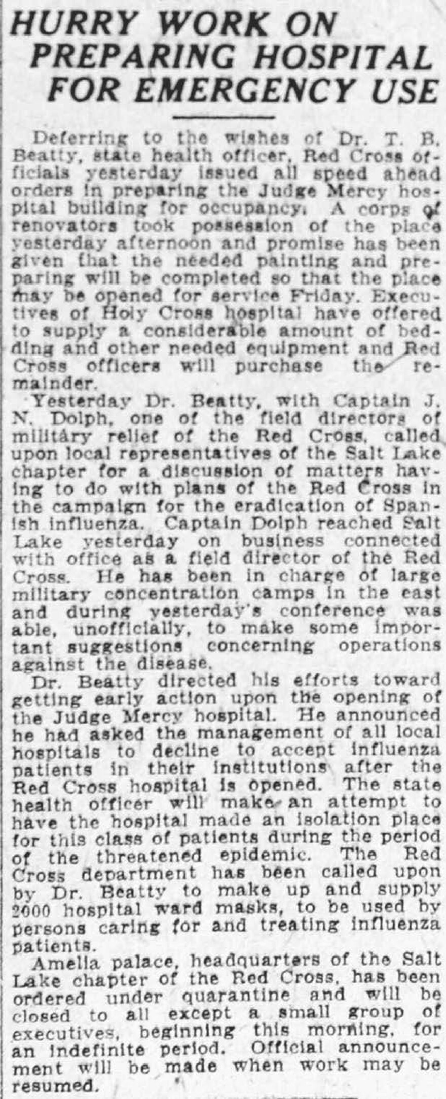 FLU COVID 5-Salt_Lake_Tribune_1918_10_10_Hurry_Work_on_Preparing_Hospital_for_Emergency_Use.jpg