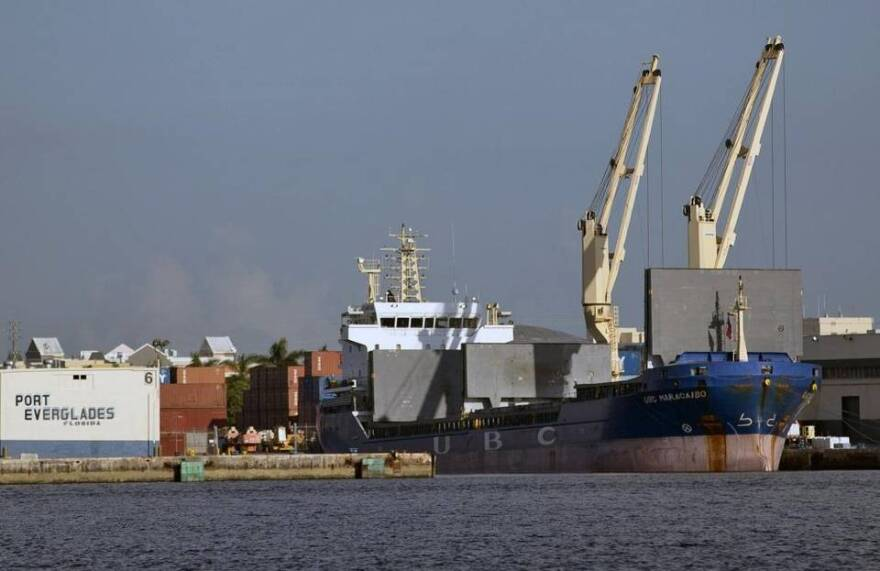 A planned expansion of Port Everglades is intended to accommodate large cargo ships coming to South Florida through the recently expanded Panama Canal.