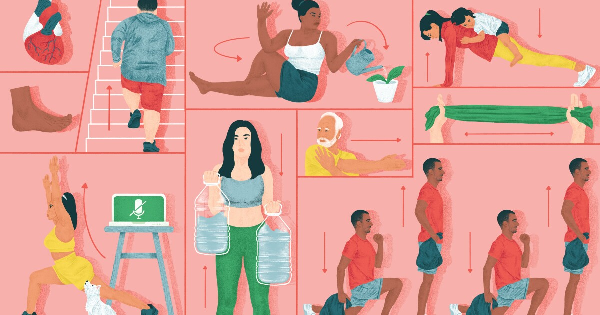Sitting too much drags down your mental health. Here's how to get moving