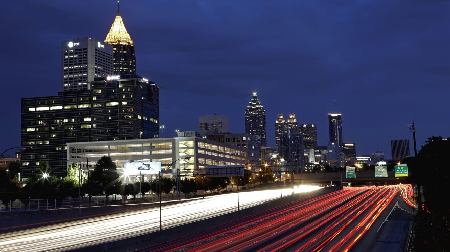 Writer Karin Slaughter has seen the fallout of some of Atlanta's most gruesome crimes and most dramatic transitions.