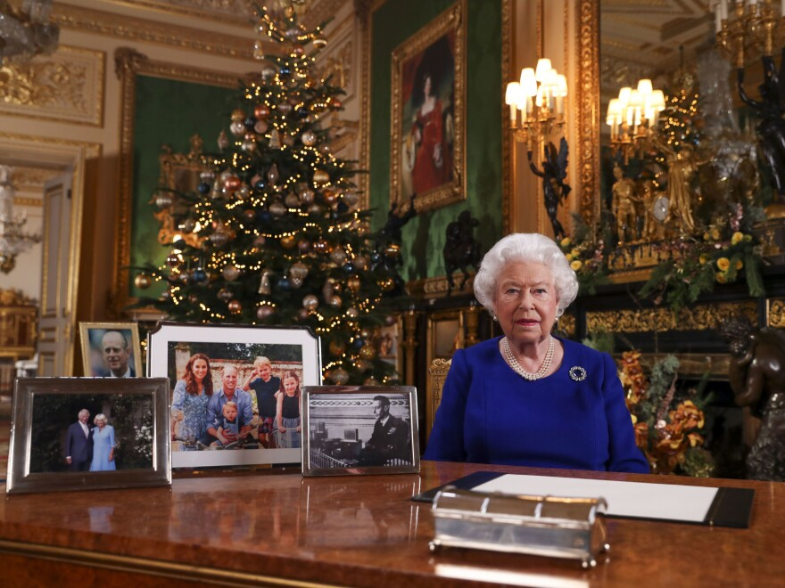 Queen Elizabeth II posed for a photograph after she recorded her annual Christmas Day message last month. Royal watchers noticed the absence of a photo of Harry and Meghan amid the other family photos displayed.