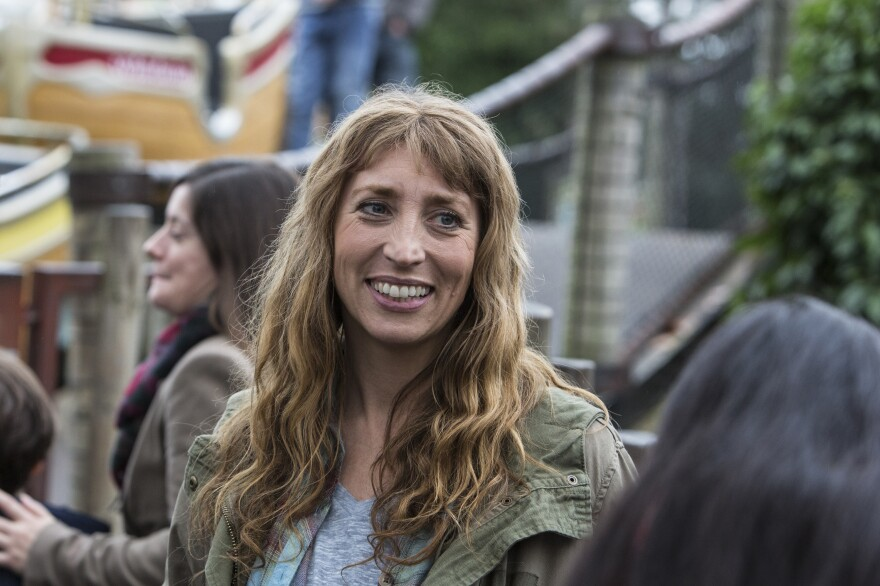 Daisy Haggard stars in and co-wrote the series <em>Back to Life</em>, where she plays an ex-con who moves back in with her parents. Originally shown on the BBC, it's coming to the U.S. via Showtime this fall.