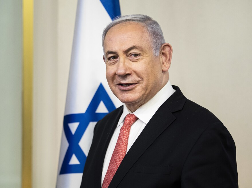 Israeli Prime Minister Benjamin Netanyahu, seen earlier this month in Jerusalem, has yet to decide publicly about the annexation of parts of the West Bank, despite a target date arriving Wednesday.