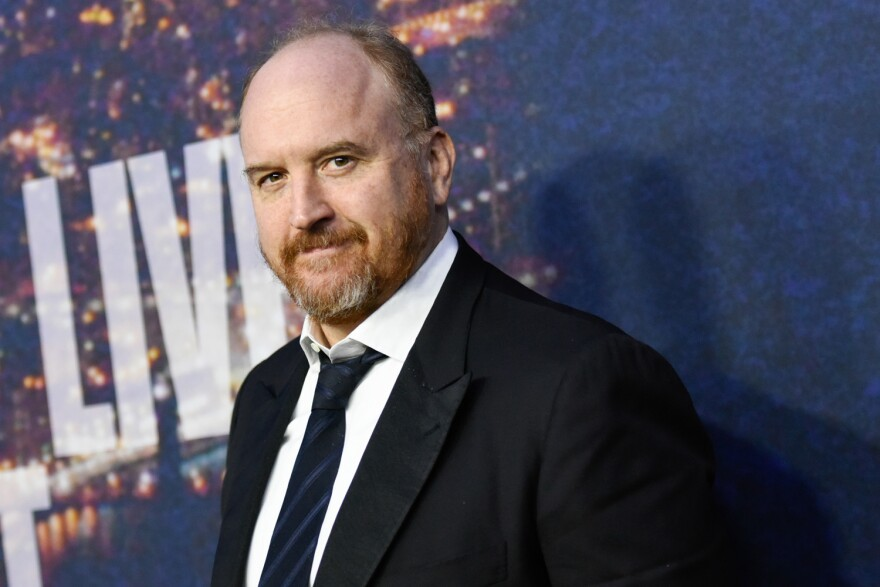 Comedian Louis CK in 2015. (Evan Agostini/Invision/AP)