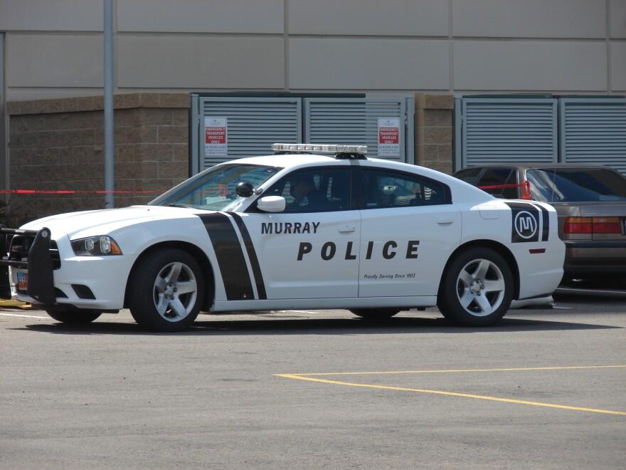 Photo of Murray Police car.