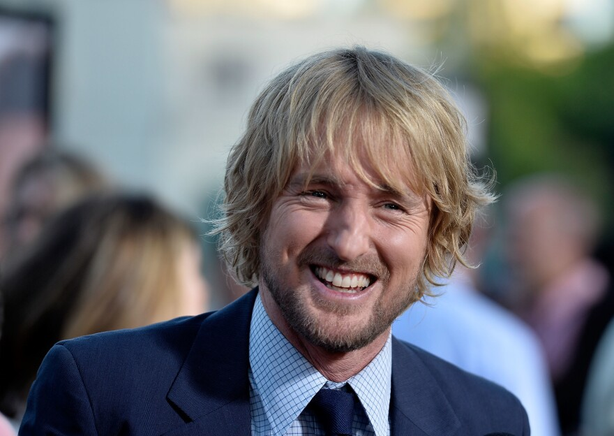 Owen Wilson arrives at the premiere of The Internship on May 29, 2013, in Westwood, Calif.