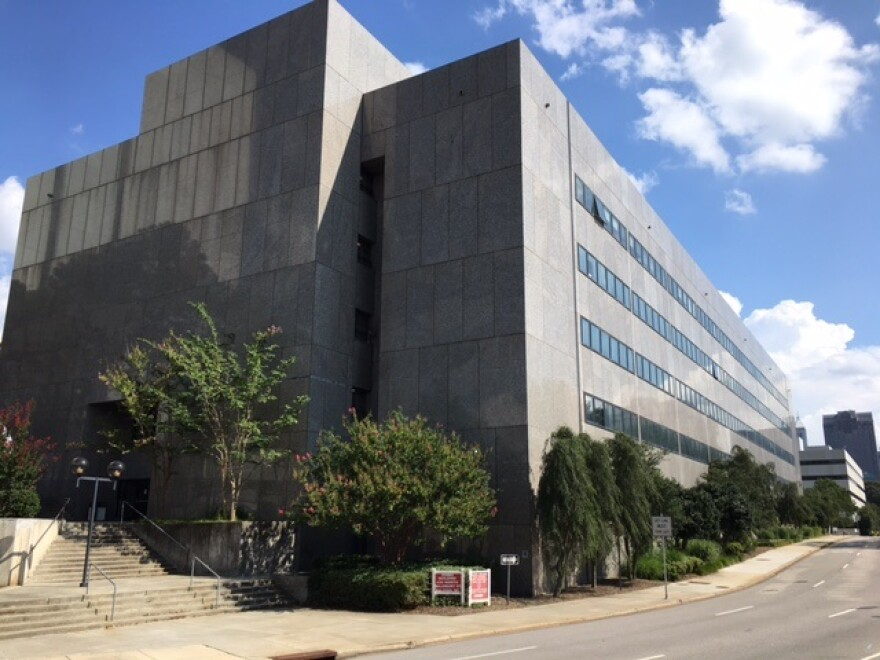 North Carolina State Board of Elections building in Raleigh
