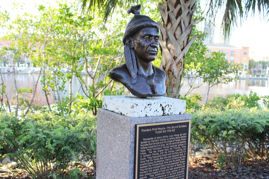 The Tampa Riverwalk will be restored with twelve new sculpture busts.