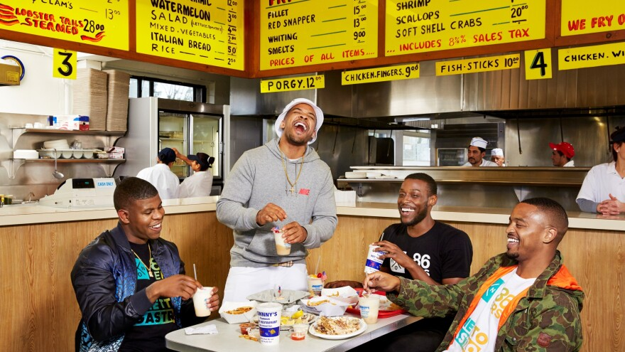 "The Ghetto Gastro collective is a self-described ""black power kitchen"" in The Bronx."