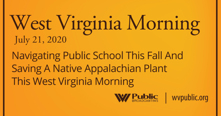 072120 Navigating Public School This Fall And Saving A Native Appalachian Plant This West Virginia Morning