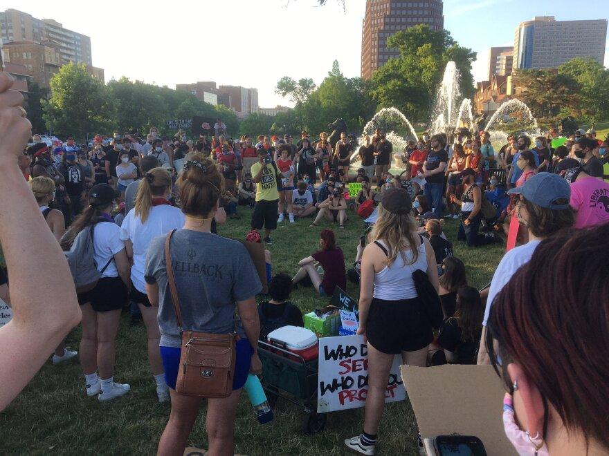 060820_BlackLivesMatter protest Mill Creek Park_Peggy Lowe.jfif