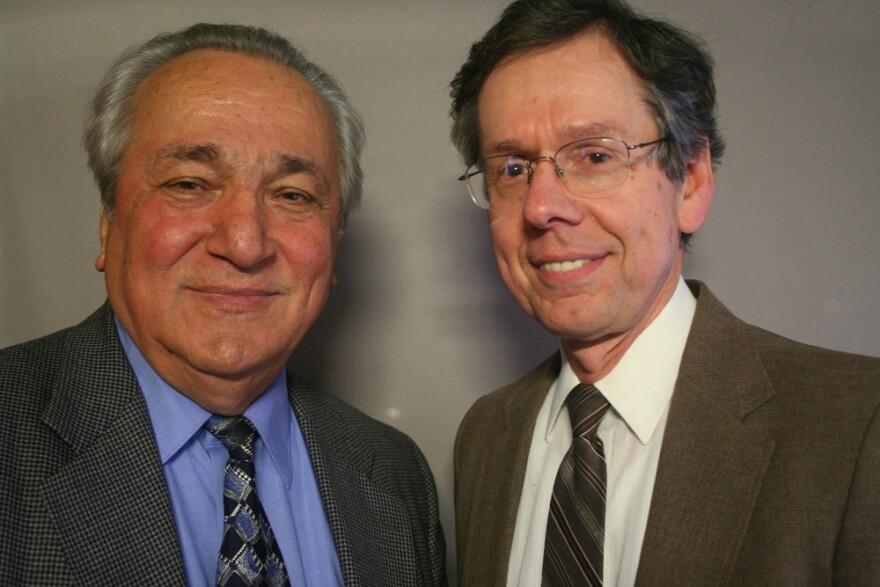 George Vlahos and Tom Ferratt